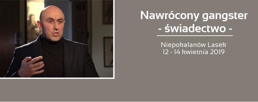 Paweł Cwynar - gościem dni skupienia 12 - 14 kwietnia 2019